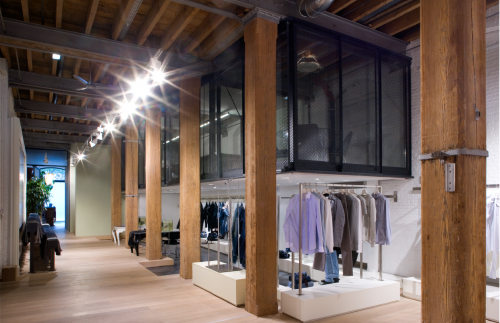 Diesel showrooms and offices