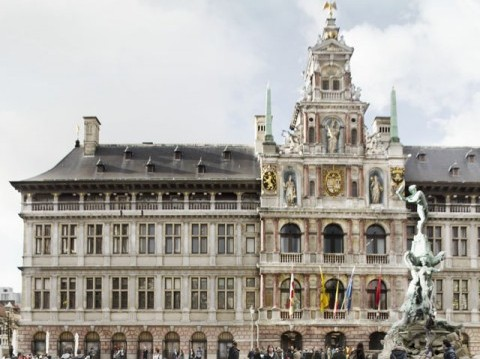 FIRST PRIZE - City Hall, Antwerp (B)