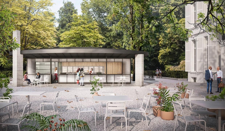 Middelheim café, Antwerp (B)